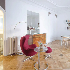 Luxury-Apartment-Barcelona-Egg-Chair-